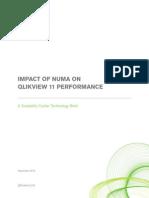 DS Technical Brief Impact of NUMA on QlikView 11 En