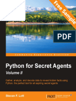Python for Secret Agents - Volume II - Sample Chapter