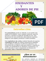 Antioxidantes Reguladores de Ph Diapositivas