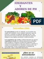 Antioxidantes Reguladores de Ph Diapositivas