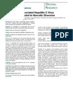 HCV Narcotic Diversion