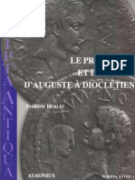 (Scripta antiqua 18) Hurlet, Frédéric-Le proconsul et le prince d'Auguste à Dioclétien-Ausonius, diff. de Boccard (2006).pdf