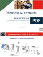 Depto Facturación - Presentación de Tarifas Mayo 2011 V2
