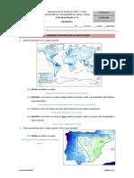 Geografia - 7ºAno - FichaElementosClima