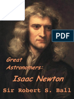 Sir Isaac Newton Autobiography