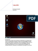 Windows XP Lite SP3