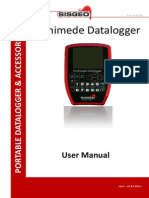 Archimede User Manual ENGLISH version