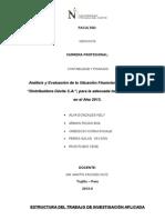 Estructura Tia Dist. Davila s Madrugada