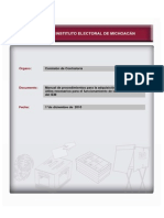 Manual de Procedimientos Para La Adquisicion de Materiales