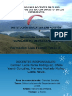 Presentac Secuencia Didactica 1 SAN AGUSTIN