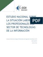 Estudio Nacional Sit Lab TIC 2014