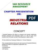 Hrm Industrial Relations