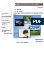 DSC H300 Cyber ShotUserGuide ES