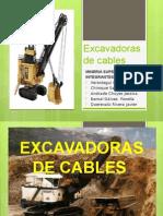 Excavadoras de Cables Resumen