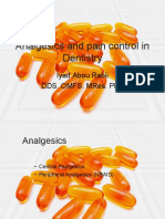 analgesics and pain control in dentistry