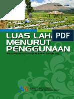 Luas Lahan Menurut Penggunaan Provinsi NTB 2014