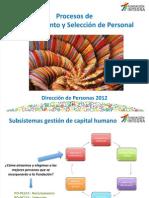 Proceso Reclutamiento y Selección 2012