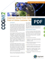 Social Prism Getting Out in Front of Online Customer Sentiment