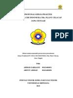 Proposal KP PT. Holcim Cilacap