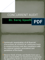 Concurrent Audit
