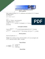 Séries Complexas e Resíduos definicao e exercicios