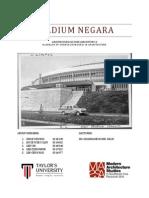 Stadium Negara Precedent Studies Report