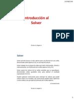 6. Introducción Al Solver