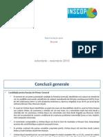 Raport Sondaj Bucuresti