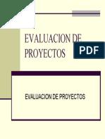 Evaluación de Financiamiento de Proyectos - Créditos