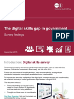 The Digital Skills Gap in Government Survey Findings December 2015