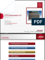 6 Ngn 1715 Redundant IO PowerPoint Presentation