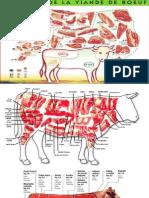 Cortes de una Vaca - Carniceria