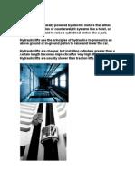 Escalators Report