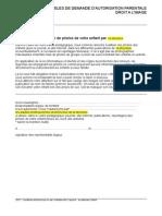 Modeles Autorisation Droitimage