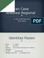 Laporan Case Anestesi Regional