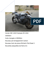 Honda CBR 1000 Fireblade RR 2004