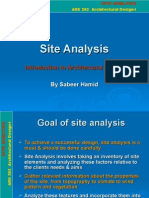 site analysis.ppt
