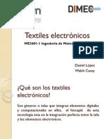 Textiles Electronicos