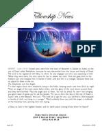 December 1, 2015 The Fellowship News