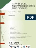 Firmas digitales y administración de red