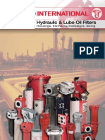 Hydraulic and Lube Oil Filtration