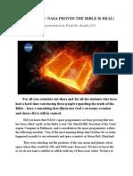 NASA Confirms Biblical Missing Day