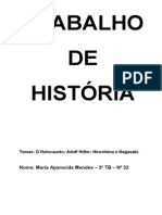 Holocausto Hitler Hiroshima