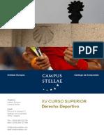 Curso Superior Derecho Deportivo
