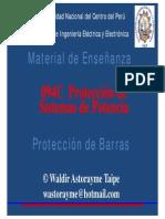 Protección de Barras
