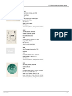 FPDP's 50th Anniversary and Exhibition Opening Checklist