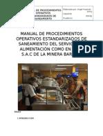 Manual de Poes Del Servicio de Alimentación Como en Casa s.A