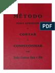 Metodo de Corte y Confeccion Ruiz 1888. 186