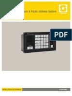 A100K10864 CTB-100V Installation and User Manual