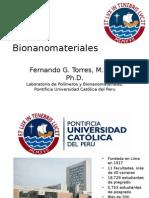 Bionanomateriales 2012 - Arequipa